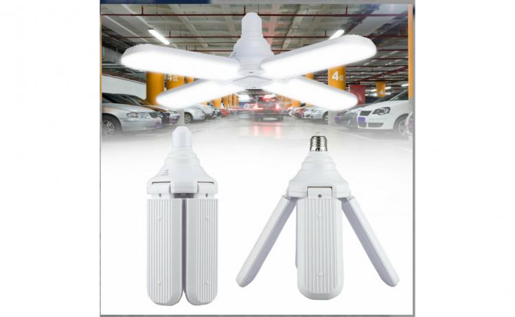 Lampa LED 60W 4brate FAN BLADE