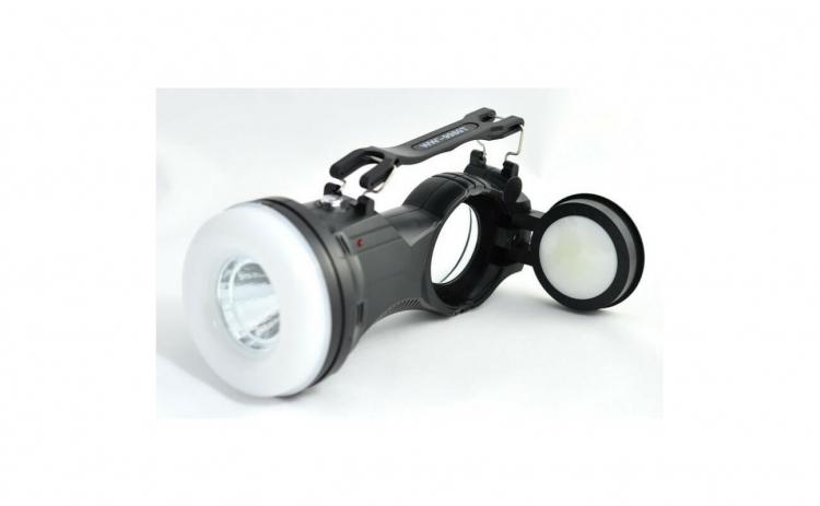 Lanterna reincarcabila cu lampa pliabila
