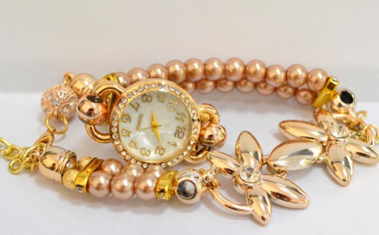 Reduceri Ceasuri de mana – 55 % Reducere – Pret Ceas Platinum Golden Pearls sk152