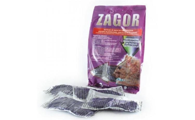 Raticid Zagor pasta, 200 g
