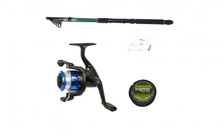 Set pescuit sportiv cu lanseta 2,4m