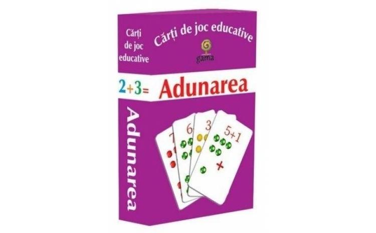 Adunarea. Carti de joc educative