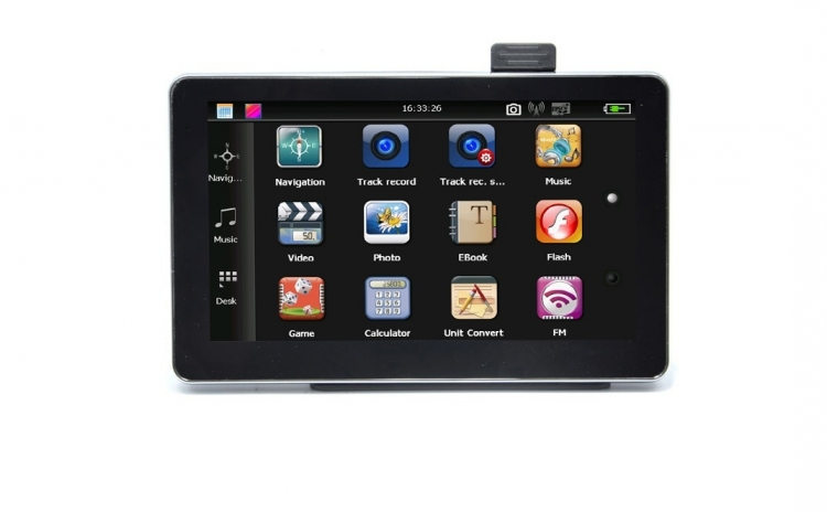 Sistem de navigatie GPS, cu TouchScreen, ecran 7 inch, 256M DDR, 8GB memorie interna, cu Windows CE si meniu in limba romana