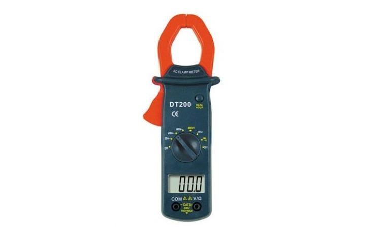 Clampmetru digital cu LCD DT200