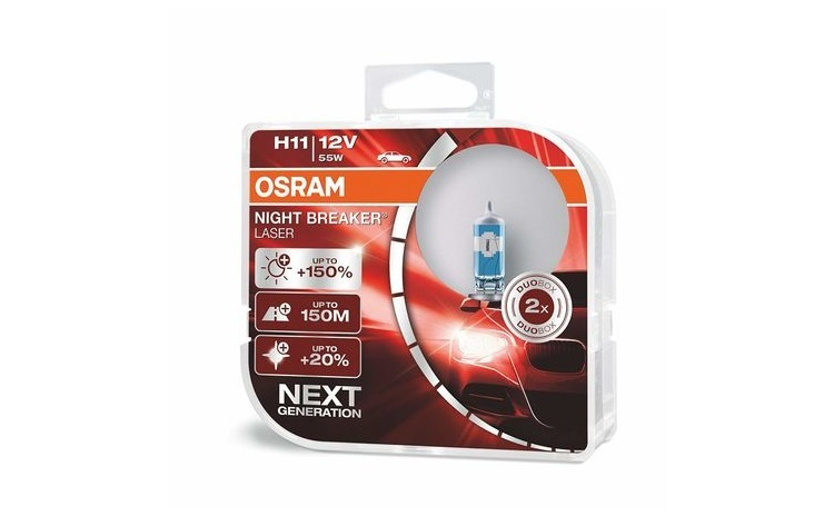 Set 2 Becuri Auto Osram H11