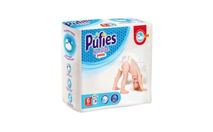 Scutece-Chilotel Pufies Sensitive Pants