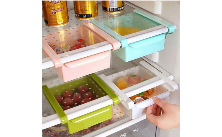 Set 3 cutii depozitare pentru frigider