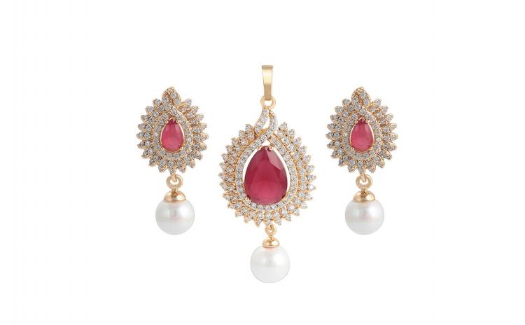 Set bijuterii Desire Pearl