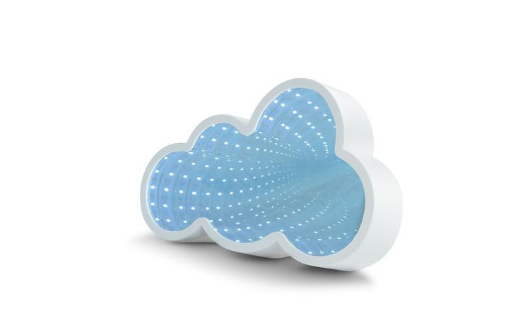 Oglindă magică LED - model nori