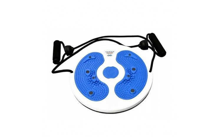 Disc rotativ pentru fintess cu corzi