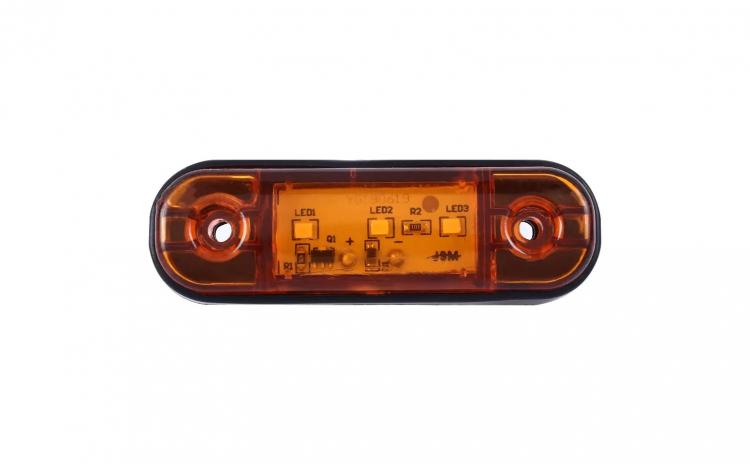 Lampa gabarit laterala, sq008 galben