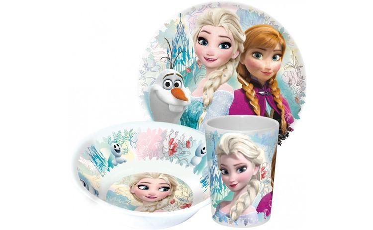 Set melamina Frozen