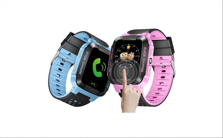 Ceas Cu Gps Pentru Copii, Buton Sos, Gps Tracker+telefon, Gps+lbs , Touchscreen, Functie Apel