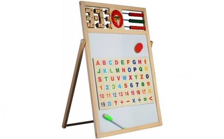 Tabla magnetica educativa 5 in 1