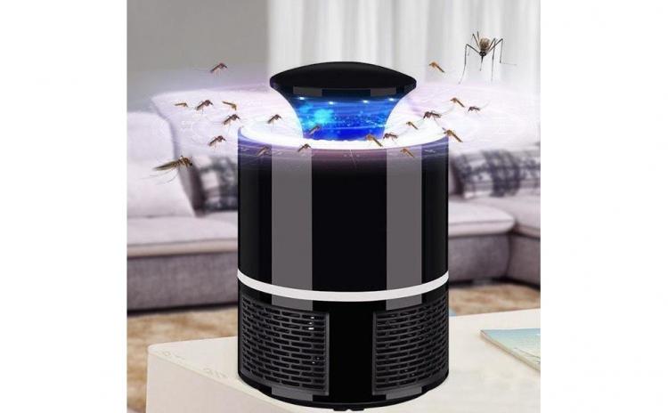 Lampa antiinsecte UV LED 360, USB, Negru