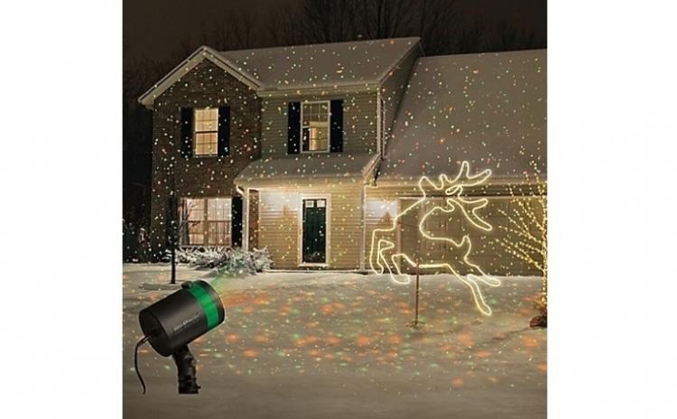 Proiectie De Stele Pe Casa Ta: Proiector Laser Pentru Exterior Sau Interior, Rezistent La Apa, La Doar 189 Ron In Loc De 399 Ron. Vezi Video