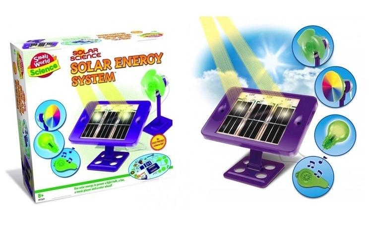Set Jucarie Educativa cu panou solar
