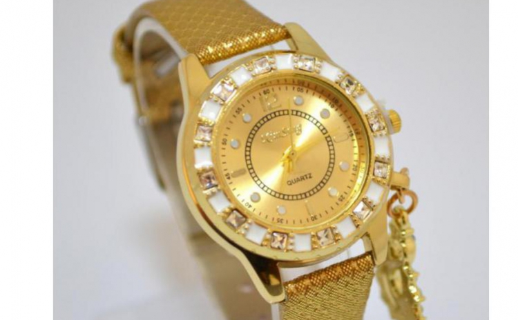 Reduceri Ceasuri de mana – 57 % Reducere – Pret Bossy Marble Gold sk082