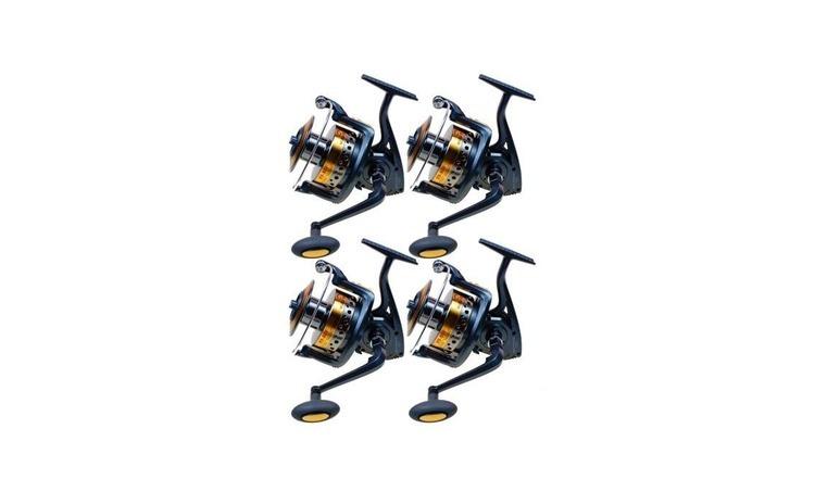 Set 4 Mulinete, R9 80f, cu tambur