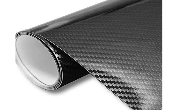 Rola folie carbon EVO 3D neagra cu