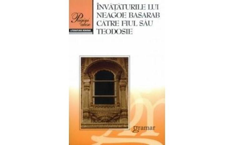 Invataturile lui Neagoe Basarab, autor Fara Autor