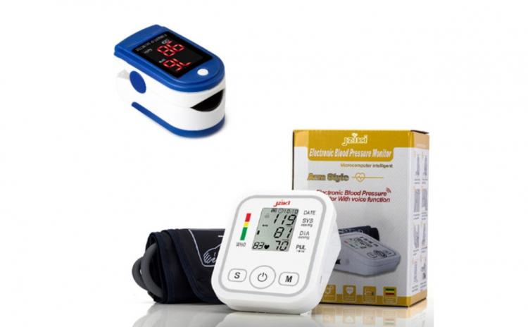 Tensiometru electronic + Pulsoximetru