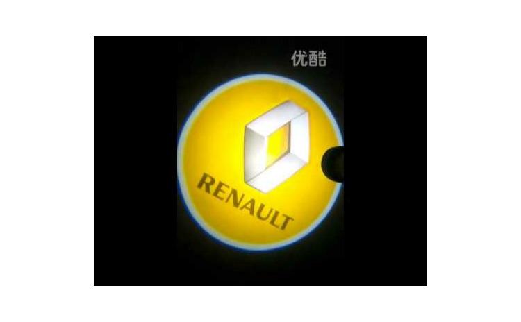 Holograme usi led cu baterii, Renault