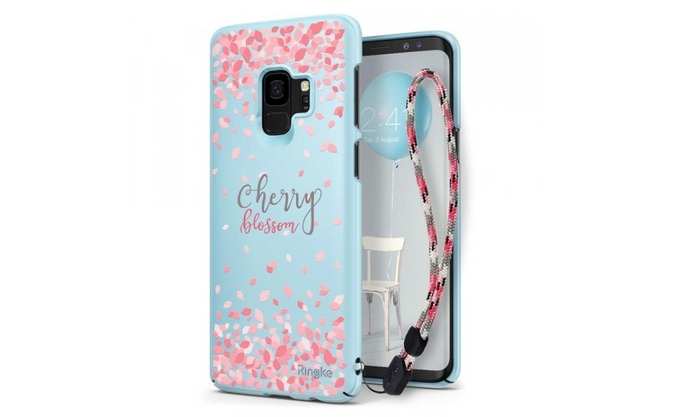 Husa Ringke Slim Design Cherry Blossom