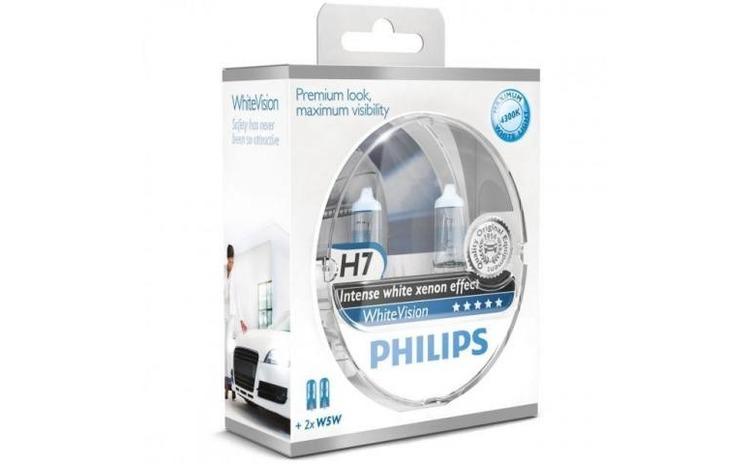 Set 2 Becuri auto far halogen Philips H7