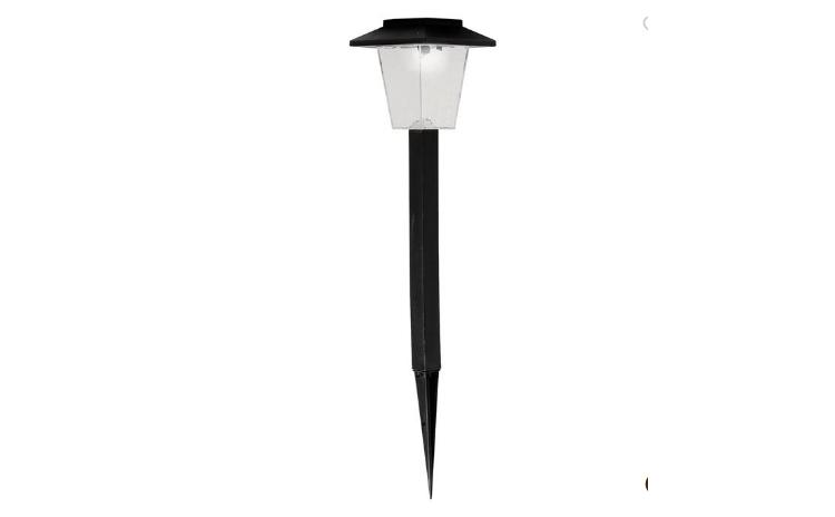 Lampa solara neagra 30 cm