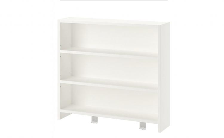 Unitate birou, alb/verde, 64 x 60 cm