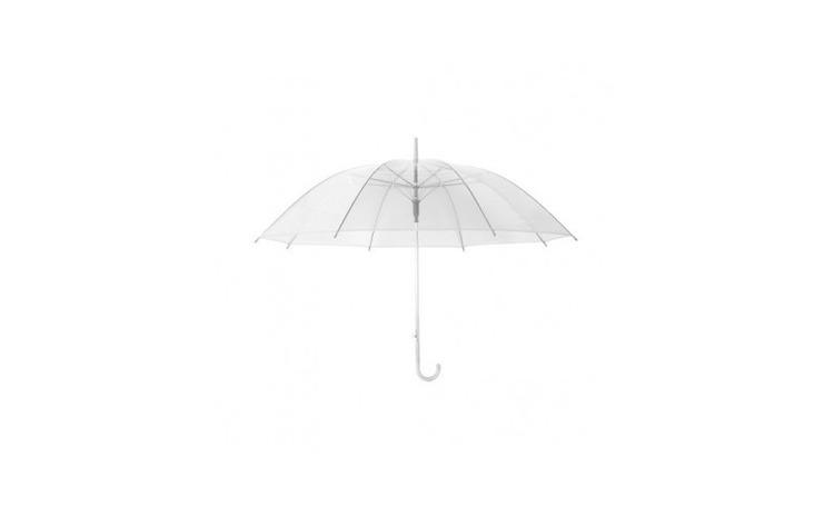 Umbrela pliabila transparenta,