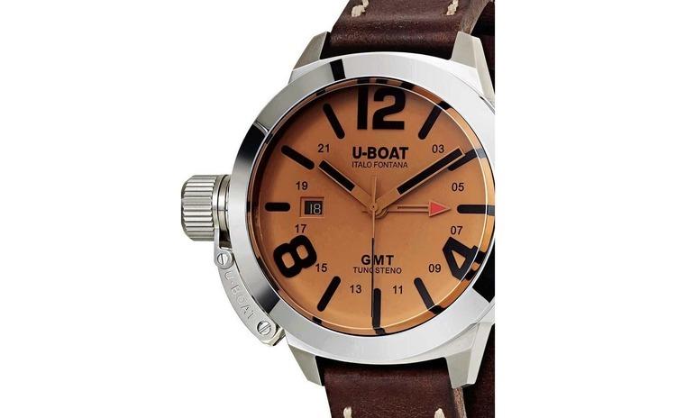 Ceas barbatesc U-Boat 8051 Classico GMT