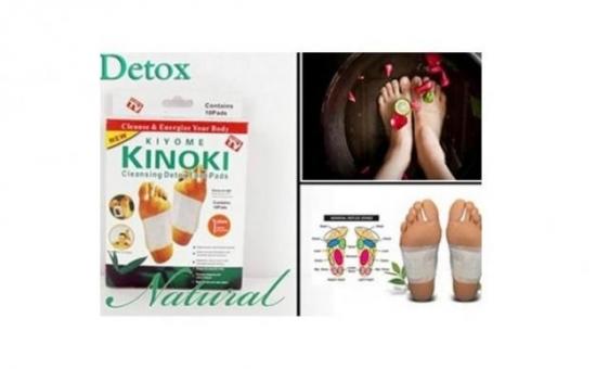 Purifica-ti organismul in totalitate si imbunatateste-ti starea de sanatate! O cutie de 10 plasturi pentru detoxifiere Kinoki, la doar 14 RON in loc de 49 RON