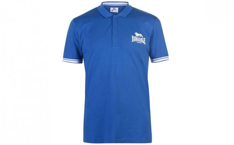 Imagine indisponibila pentru Tricou barbati Lonsdale Polo Blue