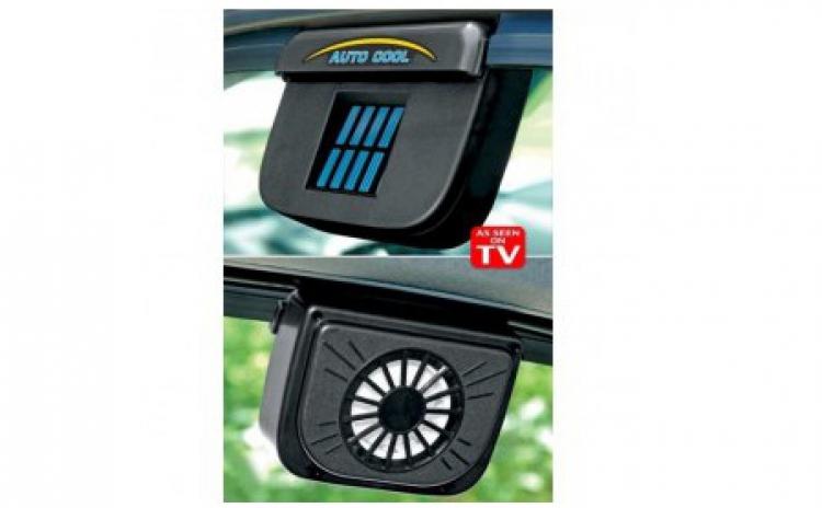 ventilator solar pentru masina auto cool la doar 39 ron. Black Bedroom Furniture Sets. Home Design Ideas