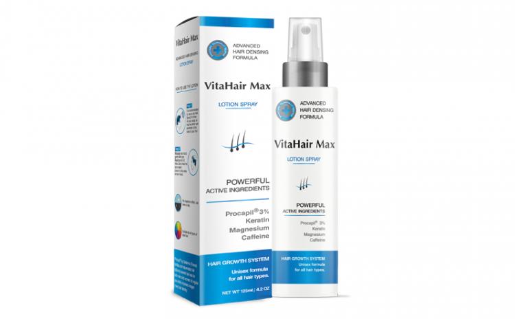 VitaHair Max – impotriva caderii parului