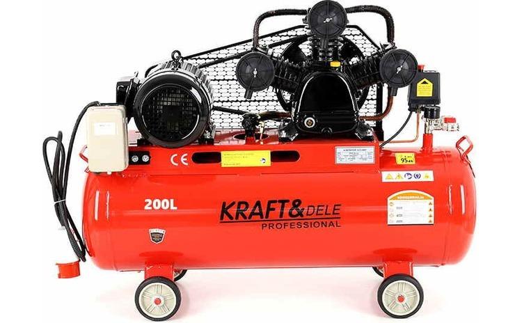 Compresor de aer industrial 200L