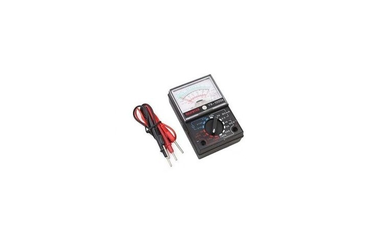 Multimetru analogic portabil, Comutator
