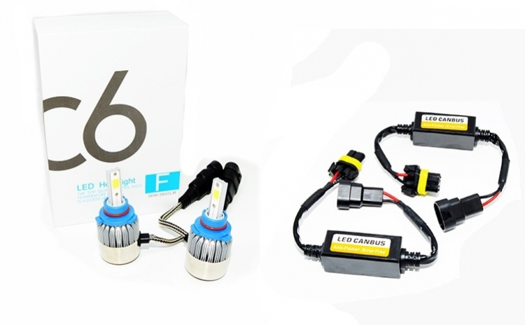 Set 2 becuri LED auto HB3