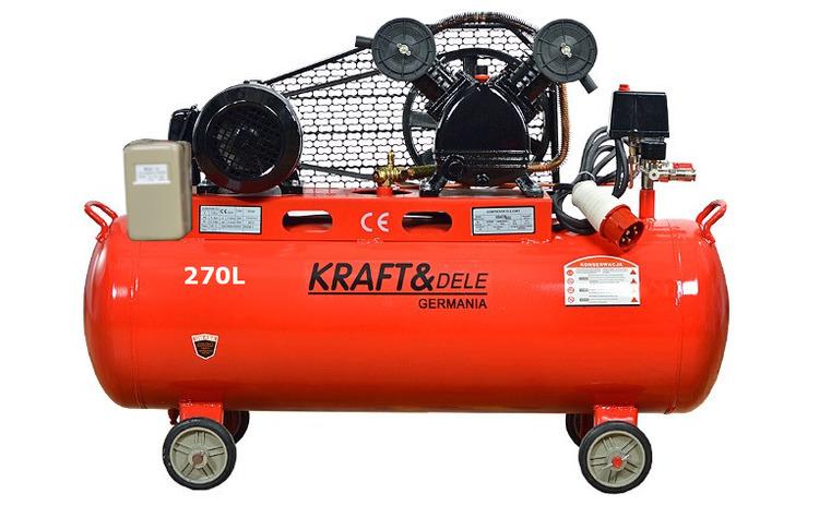 Compresor de aer industrial 270L