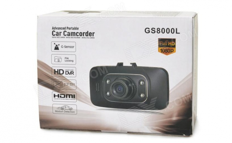 Camera auto full hd+card 8 Gb cadou