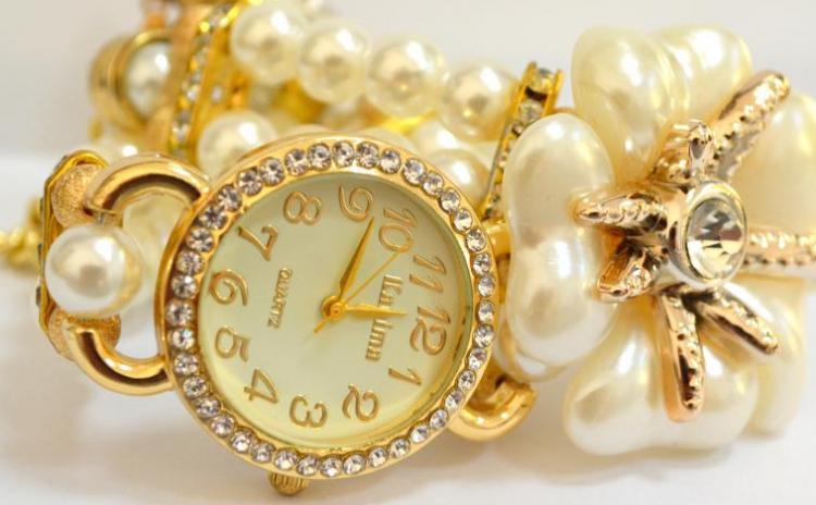 Reduceri Ceasuri de mana – 51 % Reducere – Pret Platinum Light Beads White sk069