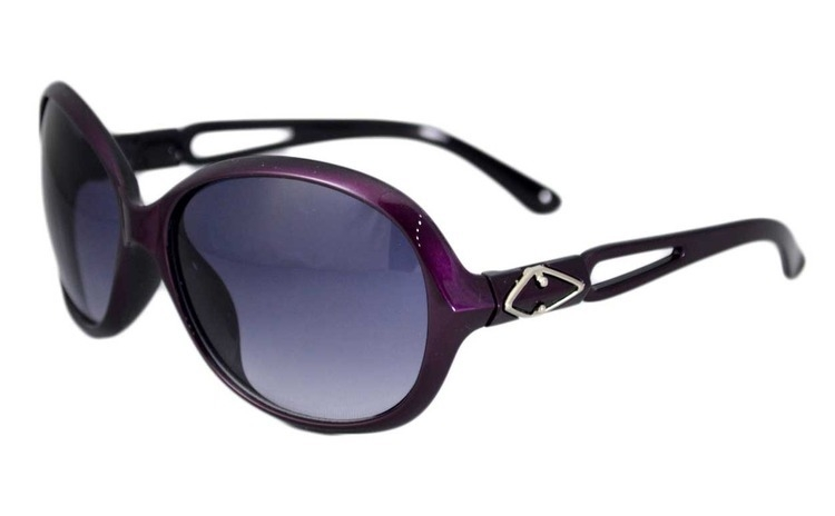 Ochelari de soare rotunzi 6 - Mov