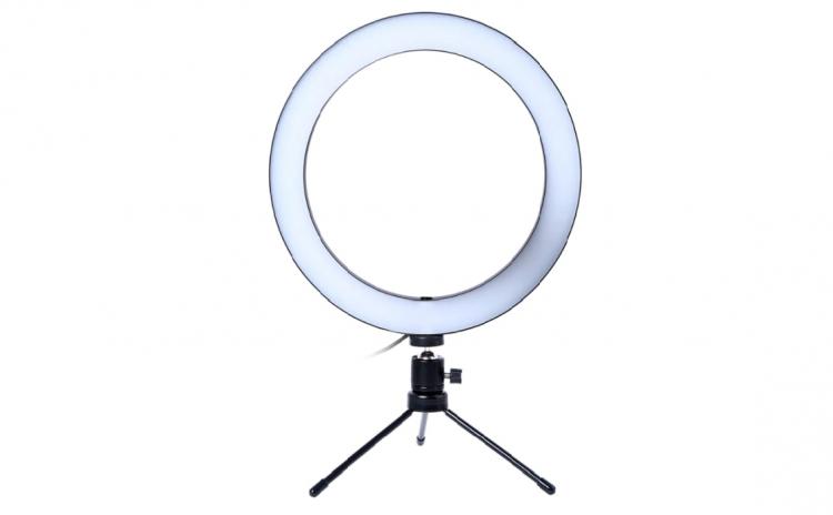Trepied mini Tiktok cu lampa circulara