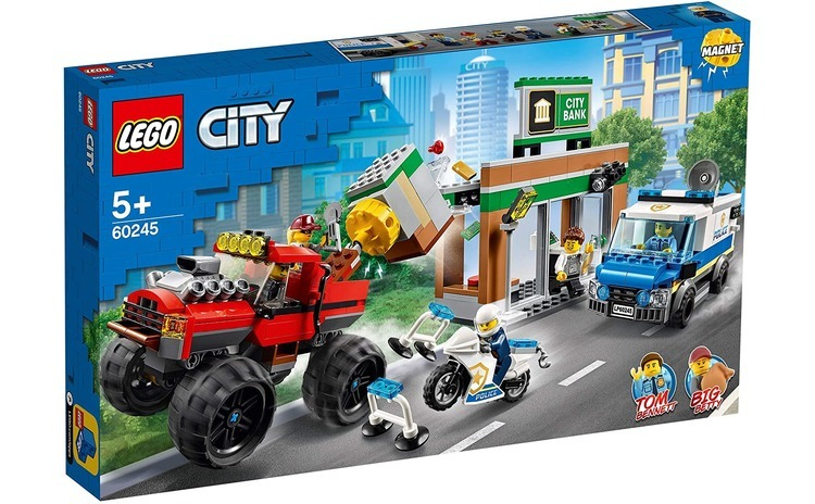 LEGO CITY CAMIONUL GIGANT DE POLITIE SI