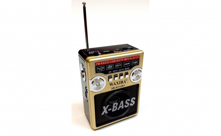 Radio cu lanterna X Bass 631, acumulator