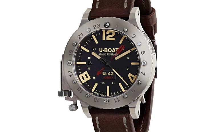 Ceas barbatesc U-Boat 8095 U-42 GMT