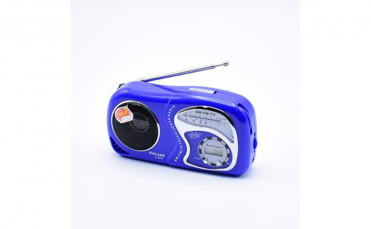 Radio Portabil Cu Baterii Si Ceas ,AM,FM