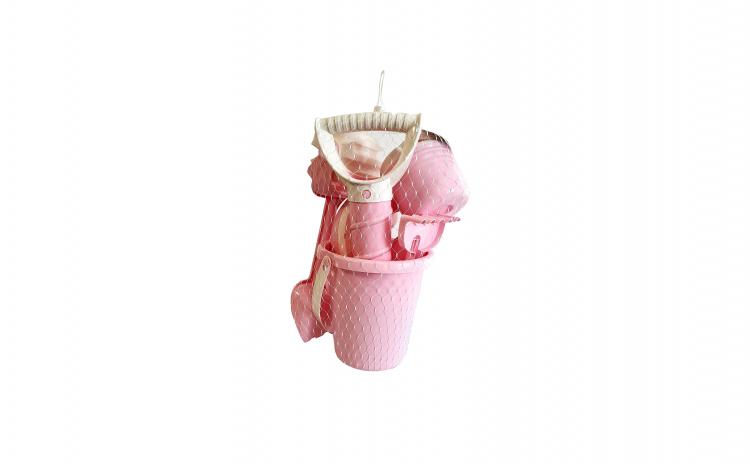 Galetusa cu jucarii pentru nisip, roz